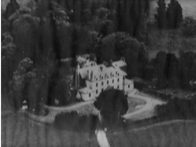 Aerial photo of Plas Cilybebyll pre 1955 by Unknown