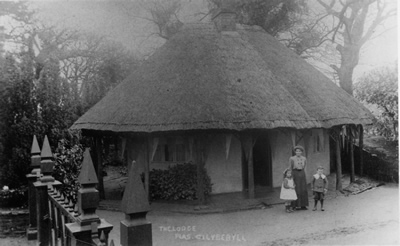 The Lodge, Cilybebyll circa. 1900 by The Lloyds of Plas Cilybebyll