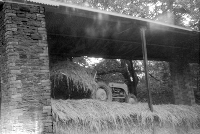 Silage Making at Plas Farm 1960s by By David Bowen
