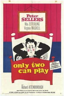 ONLY TWO CAN PLAY (1961, 106min, b/w)